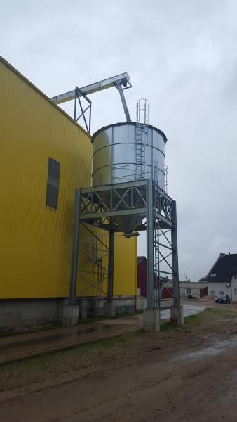 Graudu pirmpastrādes komplekssBauskā - VOKA.LV