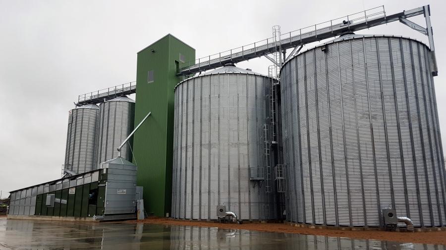 Graudu pirmapstrādes koplekss Grobiņas novadā - VOKA.LV